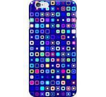 Retro Squares - Blue/Cyan [iPhone case] iPhone Case/Skin