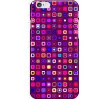 Retro Squares - Magenta [iPhone case] iPhone Case/Skin