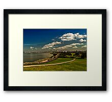 City View from Elwood Beach Framed Print