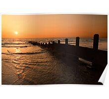 The Golden Sunset Poster