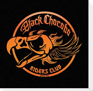 Black Chocobo Riders Club by Kari Fry