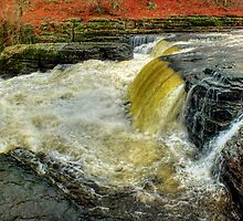 Lower Falls Aysgarth -  Panorama - HDR by Colin J Williams Photography