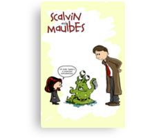 Scalvin and Maulbes Canvas Print