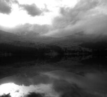 Ben Vorlich Across Loch Earn by photobymdavey