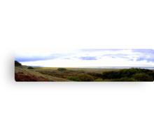 Clam Beach Sky Canvas Print