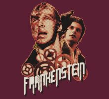 Frankenstein and His Creature - T-shirt by thatjessjohnson
