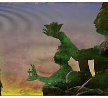 Buddha offerings by nitrams