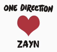 One Direction love for Zayn by StaceyN