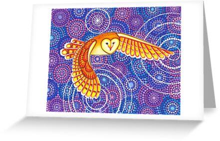 Owl Pulsating Magic by Elspeth McLean