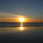 Sinking Sun at Broome by Rowena Dhue