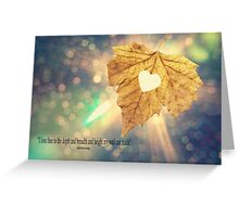 I Love Thee Greeting Card