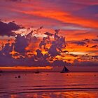 Boracay sunset by TedmBinegas