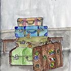 Sketchbook Project Front Page by Beth A