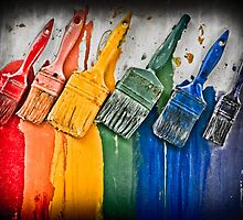 Paintbrushes by KSKphotography