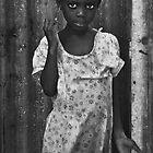 Haitian Girl by Al Duke