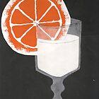 Milk and Orange by vorapple
