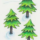 Winter Greens by Parnilla