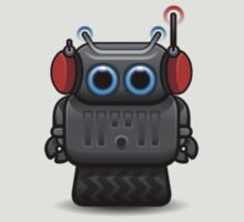 Robot with headphones by Pango