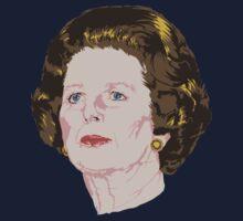 Margaret Thatcher by DebbieDoesDogs