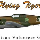 P40B Flying Tigers by CobbWebb