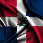Dominican Republic Flag Drop by CreativoDesign