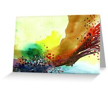 Abstract 5 Greeting Card
