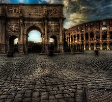 One evening in Rome by Erik Brede