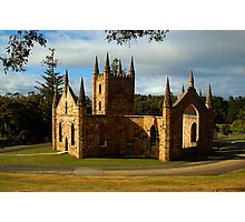 Church Ruins At Port Arthur. Tasmania, Australia. Photographic Print