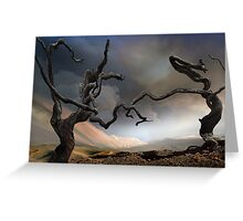Solitary Together Greeting Card