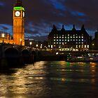 London Night by Sebastian Wasek