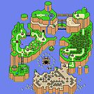 Super Mario World's Map ! by Venum Spotah