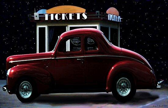 Drive In Movie by artstoreroom