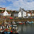 Crail Harbour by hildamurray