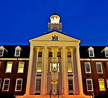 Holloway Hall, Salisbury University, Salisbury Maryland by jbarnesphotos
