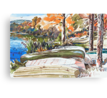 Late Last Summer in Brigadoon Canvas Print