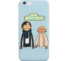 Sherlockesame Street iPhone Case iPhone Case/Skin
