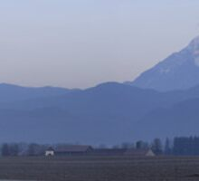 Krvavec and the Kamnik Alps at dawn. by Ian Middleton