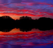 Tie Dye Sky by Tim Scullion