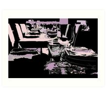 Come dine with me Art Print