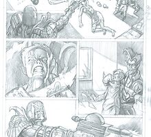 Judge Dredd submission pencilled by Toblakai