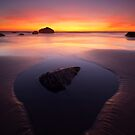 Sunset Pool by DawsonImages