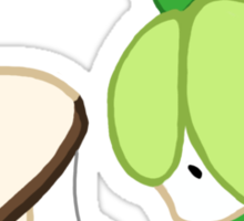 Curious Little Pokemon Sticker
