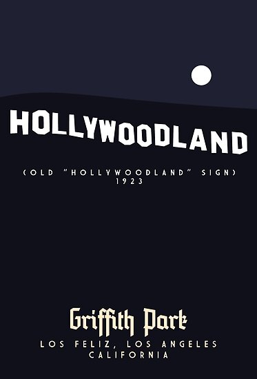 Griffith Park: The Hollywood Sign by Sam Novak