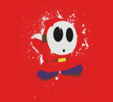 Splattery Shy Guy Style 1 by thedailyrobot