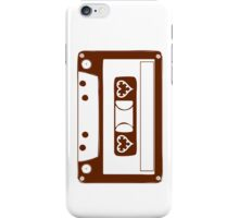 Cassette Love iPhone Case/Skin