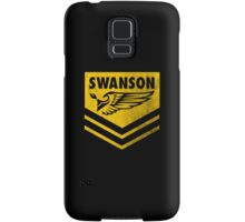 The Swanson Hardcore Outdoor Club Samsung Galaxy Case/Skin