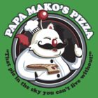 Papa Mako's Pizza by drawsgood