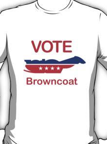 Vote Browncoat T-Shirt