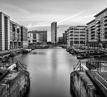 Clarence Dock by Vaidotas Mišeikis