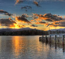 Ambleside Pier by Roger Green
